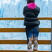 South America, Argentina, Patagonia,Santa Cruz, El Calafate. Los Glaciares National Park, Perito Moreno glacier, UNESCO, World Heritage