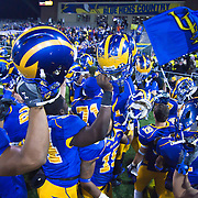 #5 Delaware defeats No.11 New Hampshire 16-3 on a brisk Friday night at Delaware stadium in Newark Delaware...Delaware will host the Division I FCS Championship Semifinals Round next weekend.