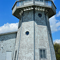Light Tower at Searsport, Maine<br /> Although this is not a functional lighthouse, it is a tribute to Searsport&rsquo;s 17 shipyards and their claim of producing 10% of the nation&rsquo;s deep water captains. That is a remarkable accomplishment for a town of less than 2,700 residences. However, Searsport is also Maine&rsquo;s second largest port.