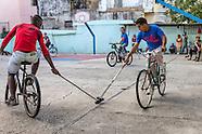 Bici-Polo in Havana Vedado, Cuba.