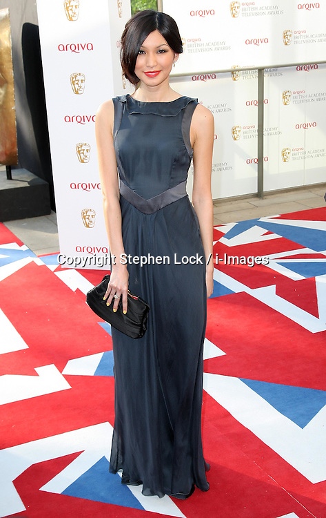 Gemma Chan arriving at the British Academy Television Awards in London, Sunday , 27th May 2012.  Photo by: Stephen Lock / i-Images