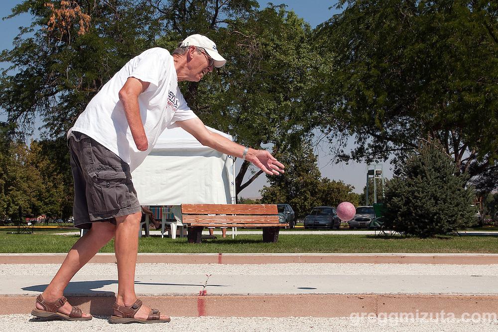 Idaho Senior Games at Ann Morrison Park in Boise, Idaho on August 16, 2014.