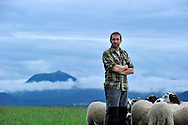 02/07/14 - VERNINES - PUY DE DOME - FRANCE - Portrait de Richard RANDANNE - Photo Jerome CHABANNE