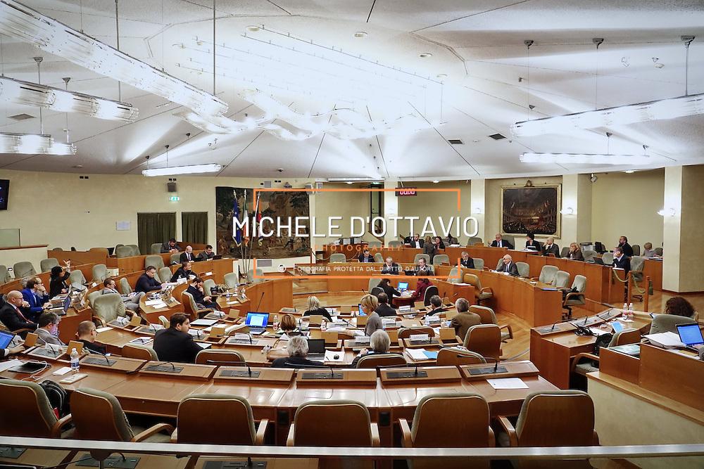 l'aula del Consiglio Regionale del Piemonte durante la Seduta n. 191 del 06-12-2016 delle ore 15.00
