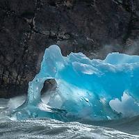 South America,Patagonia, Chile, Torres del Paine, Lago Grey, UNESCO, World Heritage, Iceberg on Lago Grey