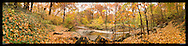 Panoramic Photograph of Sligo Creek Park, Takoma Park, MD.  Print Size (in inches): 15x4; 24x6; 36x9; 48x12; 60x15; 72x18