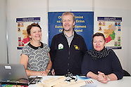 EU Stand at National Ploughing Championships, at Ratheniska, Co. Laois.