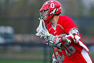 May 1, 2009:    #16 Joel Dalgarno of Ohio State in action during the NCAA Lacrosse game between Air Force and Ohio State at GWLL Tournament in Birmingham, Michigan. Ohio State defeated Air Force 10-5.  (Credit Image: Rick Osentoski/Cal Sport Media)