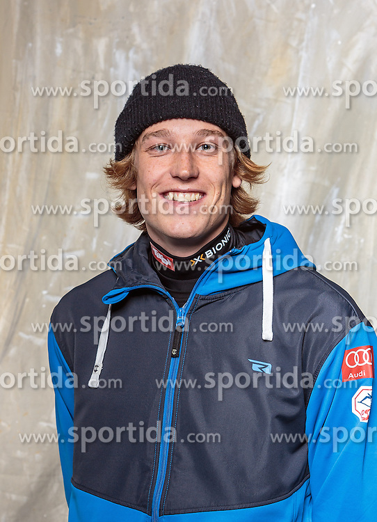 08.10.2016, Olympia Eisstadion, Innsbruck, AUT, OeSV Einkleidung Winterkollektion, Portraits 2016, im Bild Viktor Moosmann, Freestyle, Herren // during the Outfitting of the Ski Austria Winter Collection and official Portrait Photoshooting at the Olympia Eisstadion in Innsbruck, Austria on 2016/10/08. EXPA Pictures © 2016, PhotoCredit: EXPA/ JFK