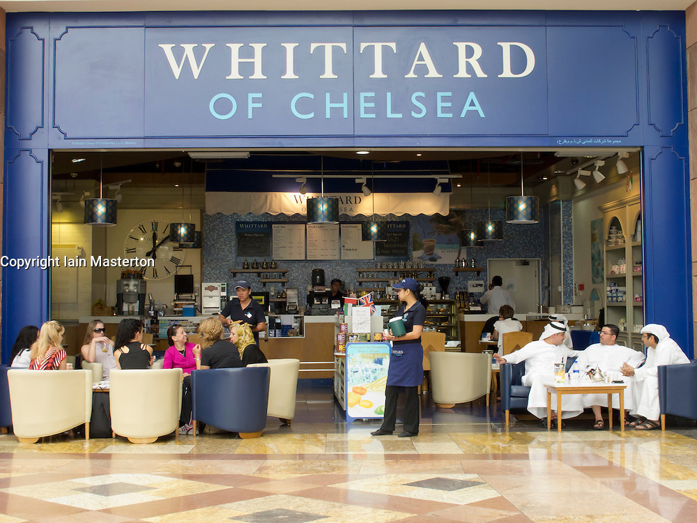 Whittard of chelsea tea and coffee shop in shopping mall for Boutique one dubai