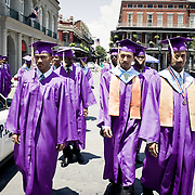 Graduation from a school in New orleans