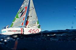 MINI 6.50 SAILOR HUGO RAMON, TRAINING IN MALLORCA,SPAIN©JRENEDO