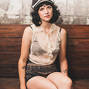 Nikki Lane at Union Pool in Williamsburg June 24, 2014.