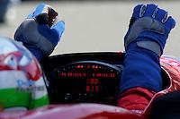 Dario Franchitti at the Michigan International Speedway, Firestone Indy 400, July 31, 2005