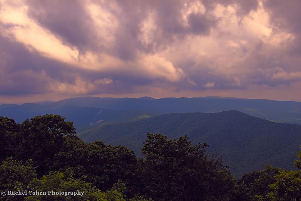 &quot;Glory Over the Blue Ridge&quot;<br />