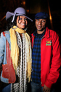 Joy and Mos Def at The Erykah Badu NewAmerykah Tour with the Roots at Radio City Music Hall on May 9, 2008..