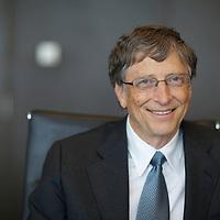 Billionaire philanthropist Bill Gates at the Global Vaccine Summit 2013 in Abu Dhabi