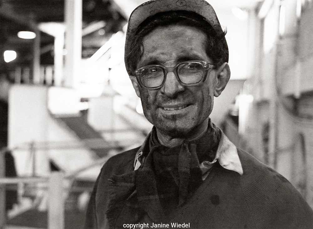 Miner Florence Colliery Stoke on Trent  Staffordshire. 1970's