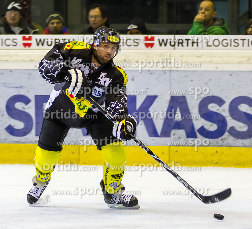 28.10.2012, Messestadion, Dornbirn, AUT, EBEL, Dornbirner EC vs UPC Vienna Capitals, 16. Runde, im Bild Christoph Harand, (Dornbirner EC, #44)// during the Erste Bank Icehockey League 16th round match between Dornbirner EC and UPC Vienna Capitals the Exhibition Stadium, Dornbirn, Austria on 2012/10/28, EXPA Pictures © 2012, PhotoCredit: EXPA/ Peter Rinderer