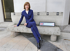MAR 07 2014 Fiona Bruce receives Freedom of City of London