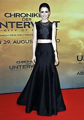 AUG 20 2013 The Mortal Instruments: City of Bones' Germany premiere
