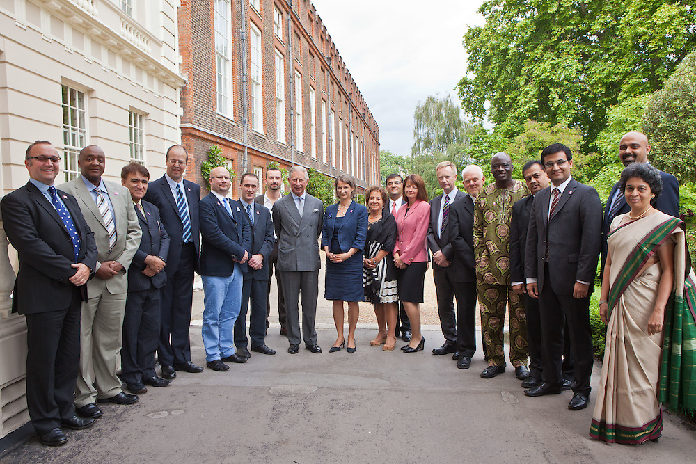 HRH The Prince of Wales with UK and international Ashden Award winners