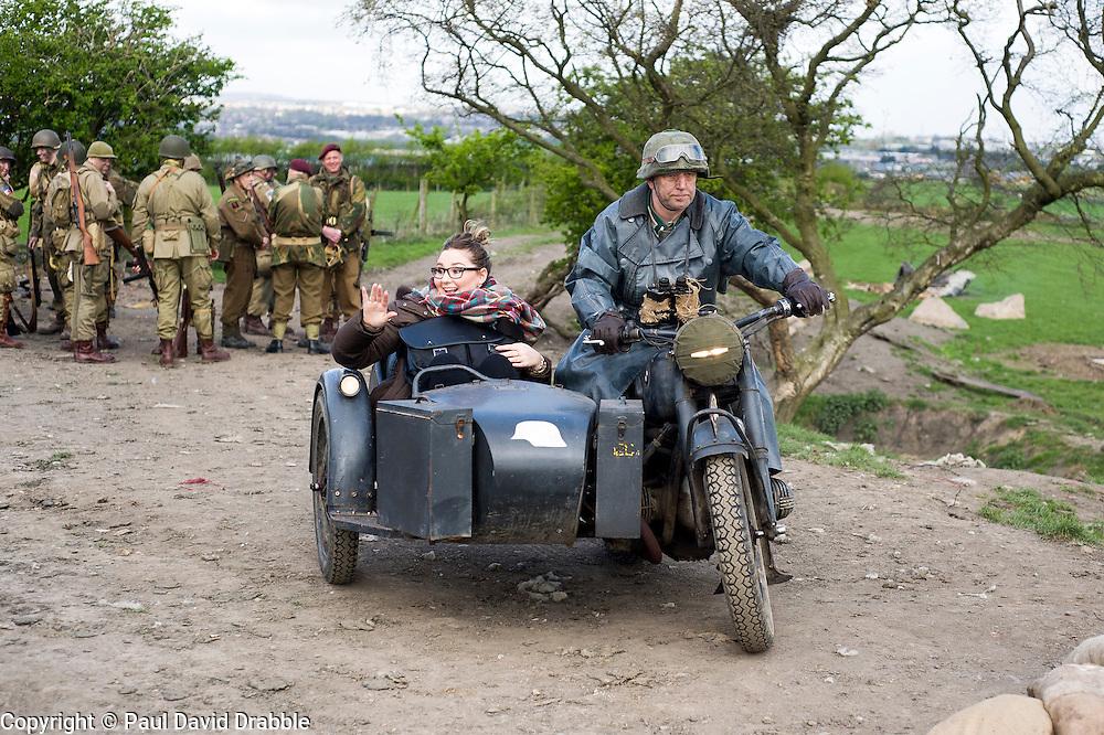 AA Filming<br /> <br /> 25 April  2015<br />  Image &copy; Paul David Drabble <br />  www.pauldaviddrabble.co.uk