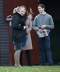 DEC 13 2013 Zara Phillips and husband Mike Tindall attend Cheltenham races