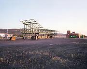 Abandoned train station in Villamayor de Calatrava, Castilla La Mancha.