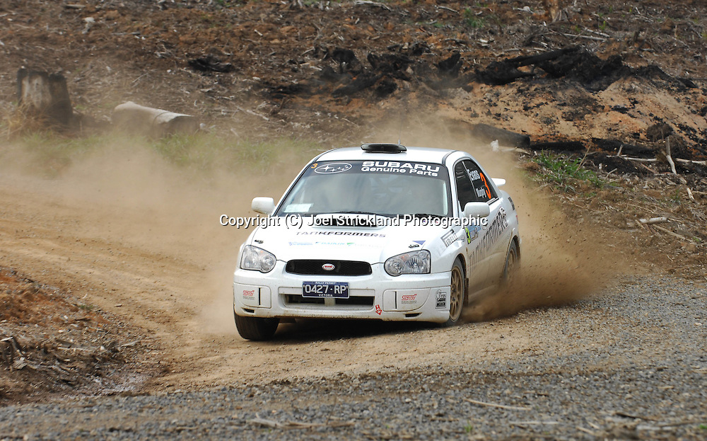 .Motorsport-Rally/2008 Coffs Coast Rally.Heat 2.Coffs Harbour, NSW.16th of November 2008.(C) Joel Strickland Photographics