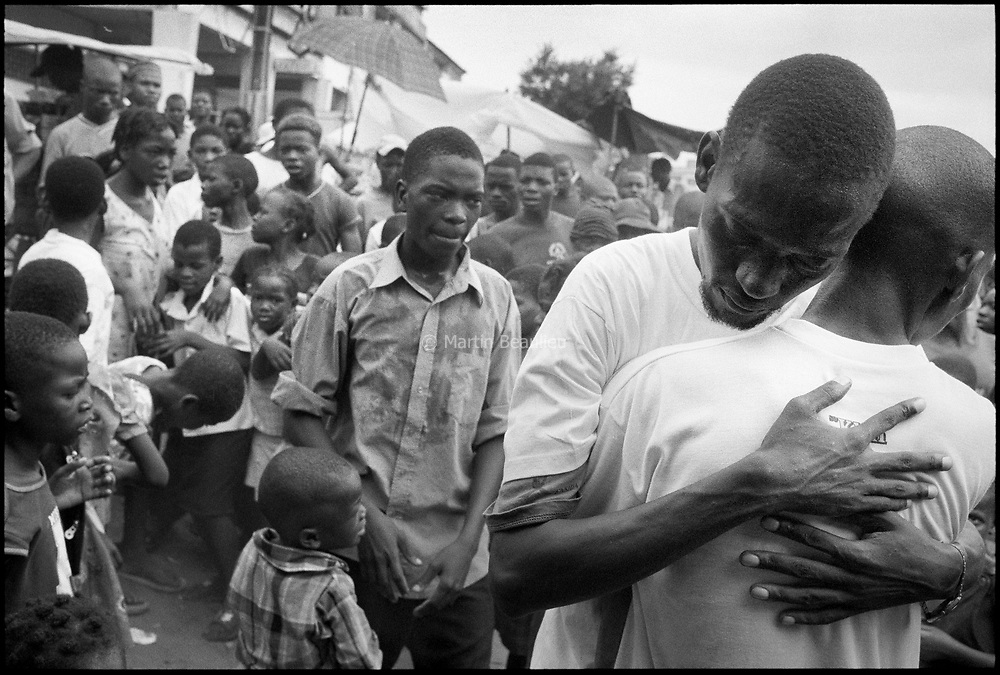 Mozambique, 'Tell me the story of Aids', project in collaboration with Doctors Without Borders.<br />