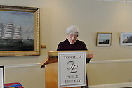 Topsham Public Library, a community center for all ages has a full series of Joy of events during the year.