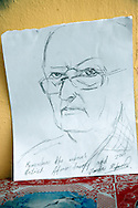 Remember the artist. Sketch of me made in Holguin, Cuba.