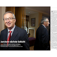July 2014 - European leaders in Brussels have nominated Jean-Claude Juncker, the former prime minister of Luxembourg, to be the next president of the European Commission.<br /> Photos made by Ezequiel Scagnetti on behalf of Fotogloria agency / Der Spiegel.