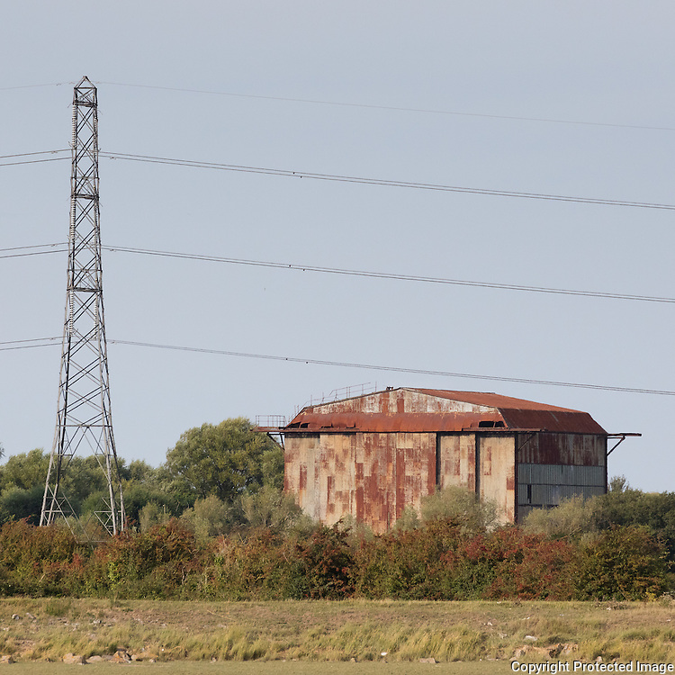 WW2 Barrage Balloon hangar near Pawlett, Somerset.