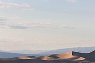 Mesquite Flat Dunes under an open sky - Death Valley National Park, California