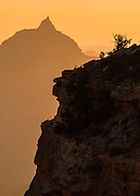 Vishnu Temple at sunrise. Grand Canyon National Park.