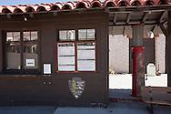 Scotty's Castle Park Service Information Kiosk - Death Valley National Park, California
