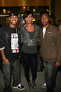 l to r: Terrence J, Keri Hilson, and Fred Wit at The Hennessey Artistry Finale Event Featuring Ne-Yo, Leona Lewis and Fabolous held at Gotham Hall on October 15, 2008 in New York City. ..Hennessy, the number 1 selling cognac in the world, host an exclusive invitation-only concert in New York City as the finale to the third annual Hennessy artistry concert series.  The highly-anticipated and star-studded show will feature performances by Ne-Yo who will be joined onstage by Fabolous as well as Leona Lewis while DJs Jazzy Jeff and Cassidy spin throughout the evening..