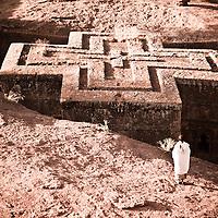 The churches of Lalibela in Ethiopia
