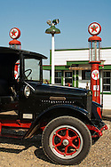 Big Horn County Historical Museum, Hardin, Montana, 1927 International truck, Fly Inn Gas Station