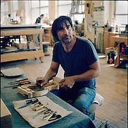 "Taymuraz ""Tommy"" Kozyrev, Piano restoration technician"