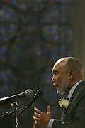 Former NY Secretary of State, and Father of NY State Governor David Patterson,  Basil Patterson at the Celebration of the Life and Legacy of Dr. Barabara Ann Teer at the Memorial Service held at The Riverside Church in Harlem, NY on Monday, July 28, 2008