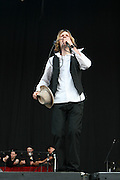 June 17, 2006; Manchester, TN.  2006 Bonnaroo Music Festival..Beck peforms at Bonnaroo 2006.  Photo by Bryan Rinnert