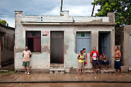 Afternoon thunder showers in Holguin, Cuba.