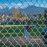 Spring baseball at Port Angeles high school.