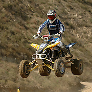 Jason Luburgh (#8) had a consistent weekend having finished both motos in the top 10.