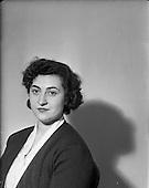 1953 - Miss Patricia O'Keeffe, Soprano