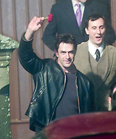 Rupert Everett at Madonna and Guy Ritchie's christening of their baby Rocco at Dornoch Cathedral in Scotland on the night of 12th December 2000.