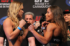 February 22, 2013: UFC 157 Weigh-In's